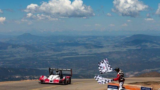 Pikes Peak 2016 Dumas arrivée