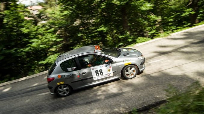 Rallye du Gard 2016 Théo Chalal