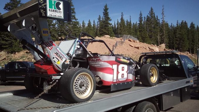Pikes Peak en spectateur Open Wheel