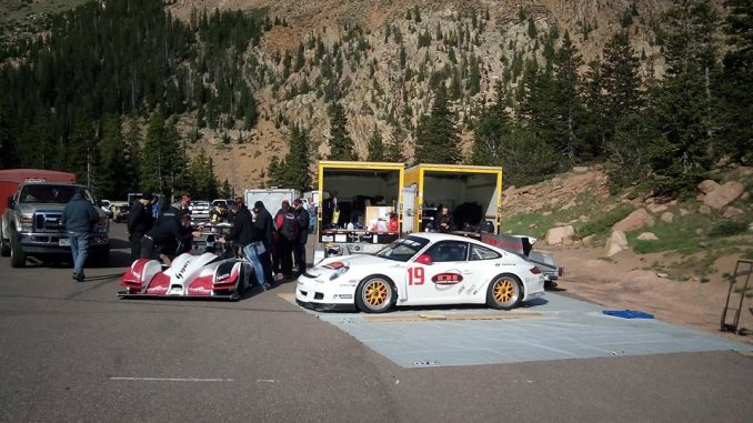 Pikes Peak en spectateur Team RD Limited