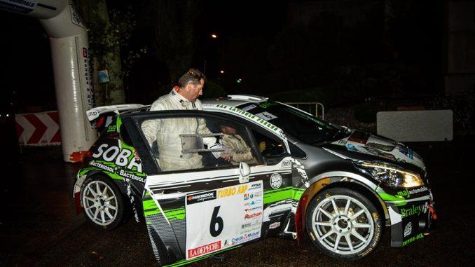 Rallye Montagne Noire 2016 Sébastien Durand