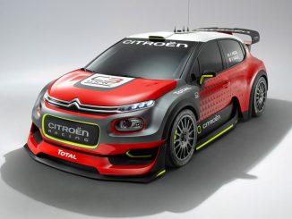 Citroën C3 WRC 2017 Concept Car