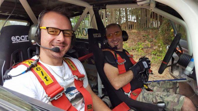 De copilote à pilote Cyril Laborderie MRP 2016