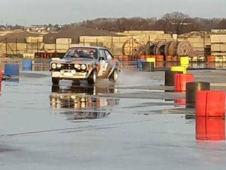 Julien Thonus en Ford Escort RS 2000