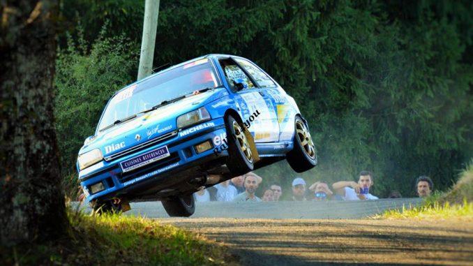 Rallye des Thermes 2016 Clio sur 2 roues