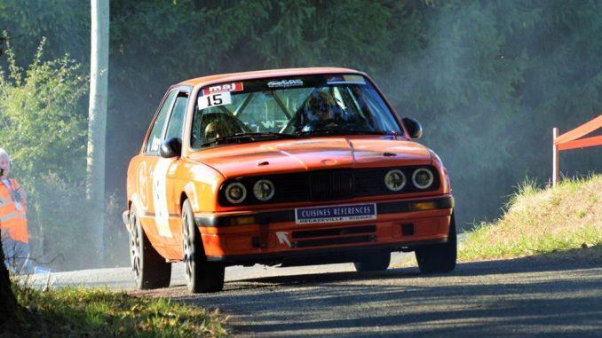 Rallye des Thermes BMW Sylvain Jean