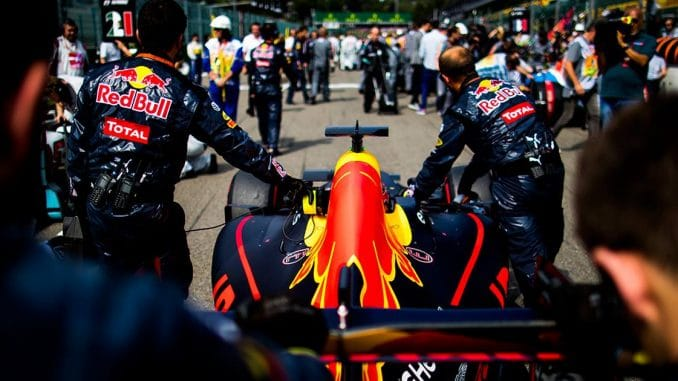 Red Bull Racing Monza 2016