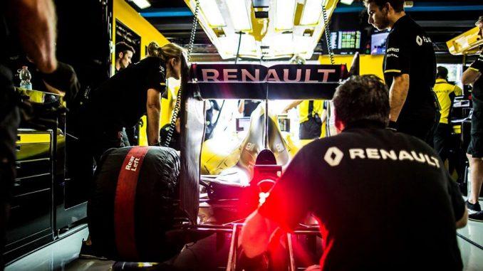 Renault F1 GP de Singapour 2016