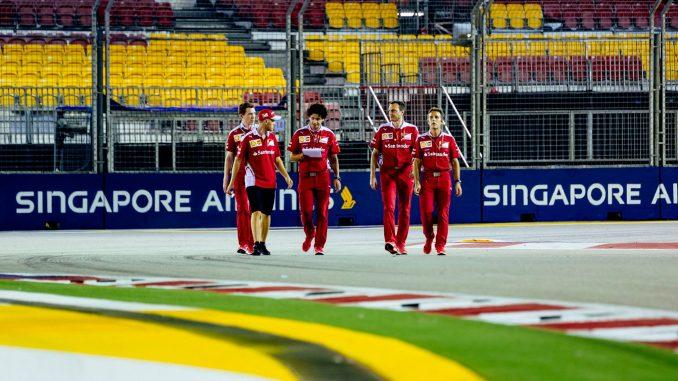 Ferrari Gp de Singapour 2016
