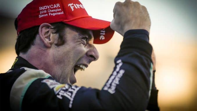 Simon Pagenaud champion Indycar 2016