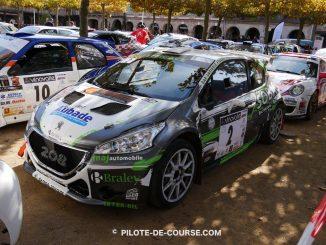 Liste des engagés Rallye du Pays Saint-Affricain 2017