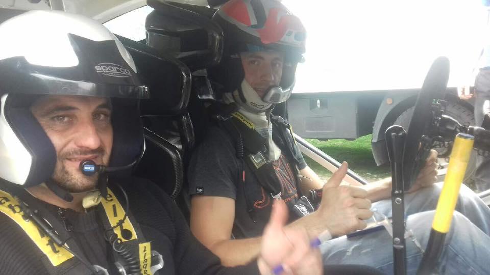 Raphaël Astier teste Ford Fiesta WRC