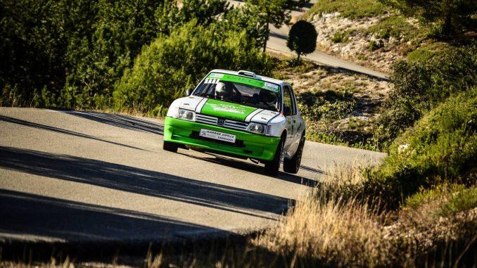 Maxi Attaque pour Guilhem Durand. Rallye de Sarrians 2016. (c) : JD Rallye