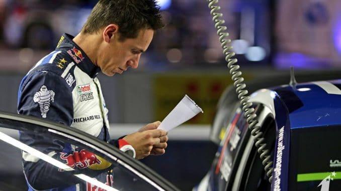 Rallye Jeunes : place aux copilotes ! WRC 2016 Julien Ingrassia ecrit peut être à sa grand-mère (c) : DR