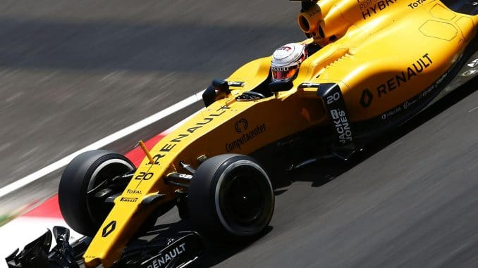 Qualifications GP de Malaisie 2016 Magnussen Renault