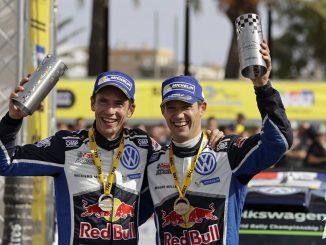 WRC 2016 : Ingrassia et Ogier Sur le toit du Monde pour la 4ème fois. (c) : DR