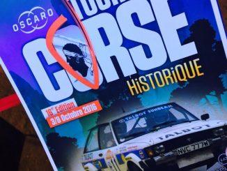 Programme Tour de Corse Historique 2016
