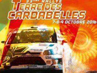parcours Rallye Terre des Cardabelles 2016