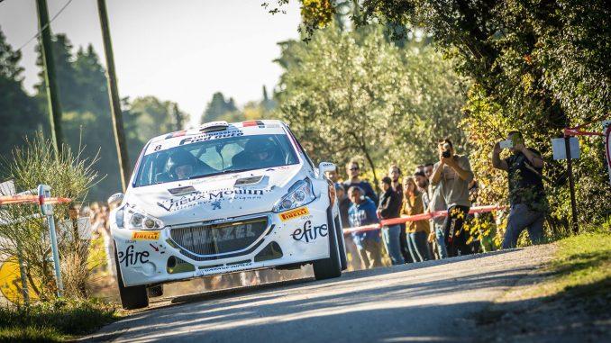 classement rallye de Sarrians 2016 Flo Bernardi 208 R5