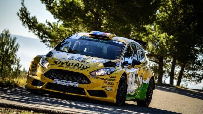 Rallye de Sarrians 2016 Romain Roche battu pour une seconde. (c) : JD Rallye