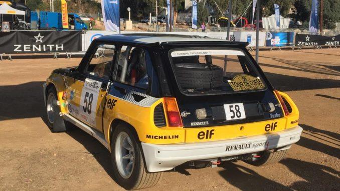 Renault 5 Turbo Tour de Corse Historique 2016