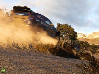 Sotie de WRC 6 avec des Ford qui volent