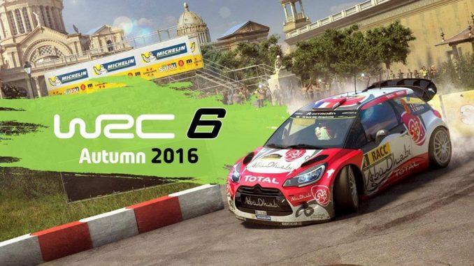 Sortie de WRC 6 ici la DS3 WRC 2016 semi-officielle (c) : KG