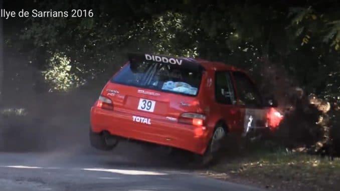 Vidéos Rallye de Sarrians 2016