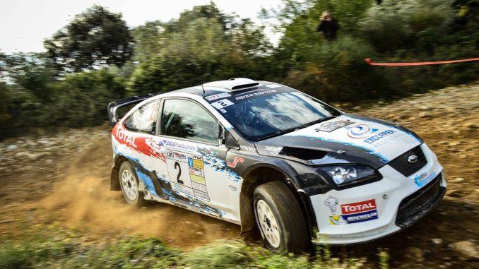 Lionel baud s'impose sur ce Terre de Vaucluse 2016. (c) : JD Rallye