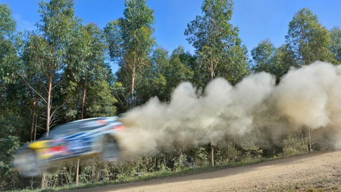 Programme Rallye d'Australie 2016. Photo : Daniel Roeseler