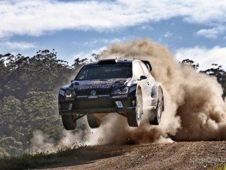 shakedown Rallye d'Australie 2016 Sébastien Ogier