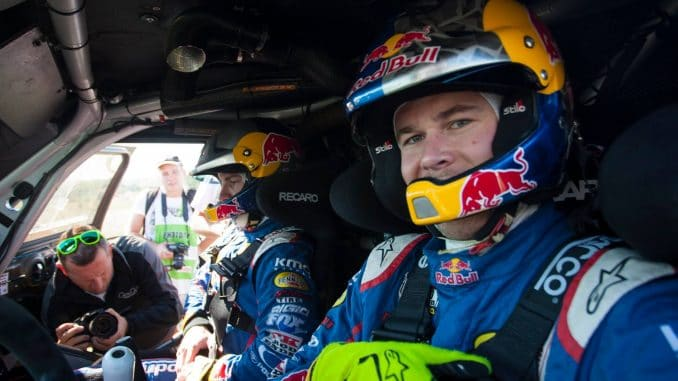 Bryce Menzies out pour le Dakar 2017
