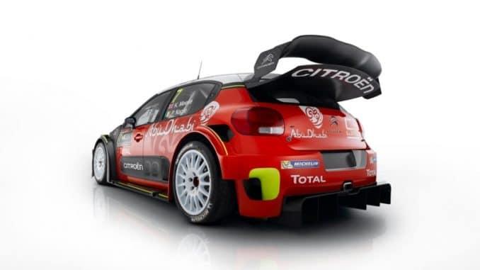 C3 WRC 2017