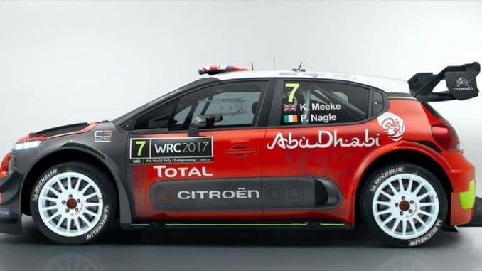 C3 WRC 2017 profil