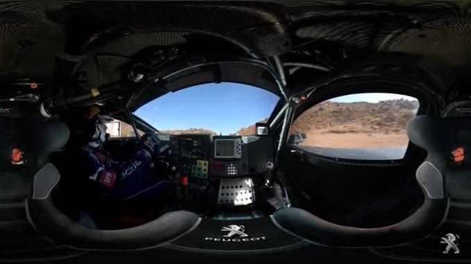 Dakar 2017 essai Loeb 3008 DKR
