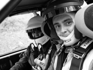 Hugo Margaillan la valeur montante en Rallye. Crédit photo : Karine Bourgain