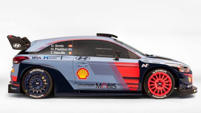 Hyundai i20 WRC version 2017