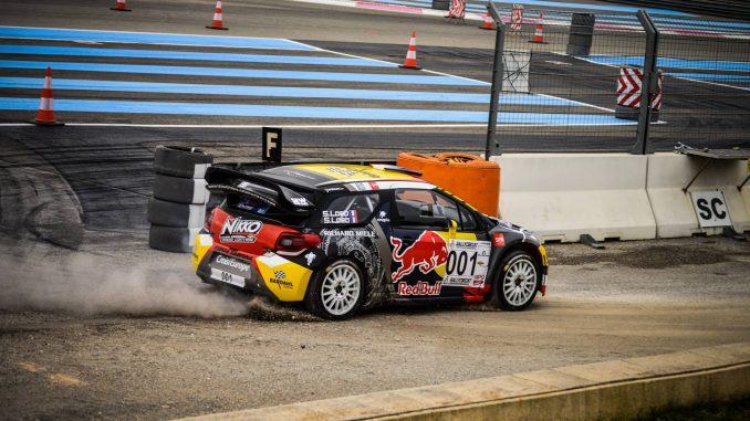 Classement RallyCircuit 2016. Sébastien Loeb