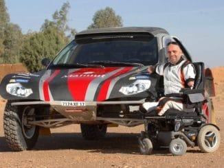 Philippe Croizon Dakar 2017 buggy