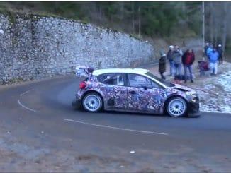 Test C3 WRC Monte-Carlo 2017