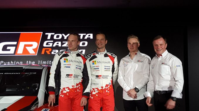 Latvala rejoint Toyota Gazoo Racing