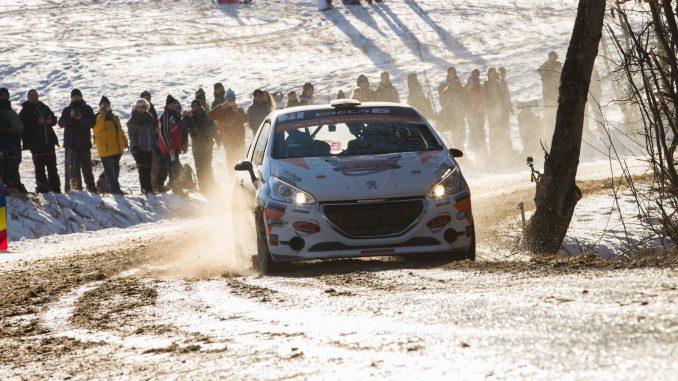 Le duo Astier - Vauclare a fait sensation pour une première. (c) : JD Rallye
