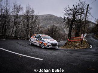 Raphaël Astier survole le WRC3 au Rallye Monte-Carlo 2017. (c) : JD Rallye