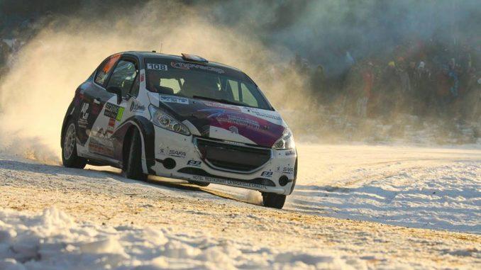 Liste des engagés Rallye Hivernal du Dévoluy 2017 Nicolas Renchet à l'attaque. Photo (c) : Quentin Ribaud