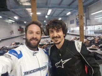Arnaud Tsamere et Julien Febreau deux copains à l'Andros. (c) : DR