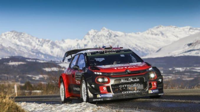 Programme TV Rallye Monte-Carlo 2018 Citroën brouille les pistes Monte-Carlo 2017. (c) : DR