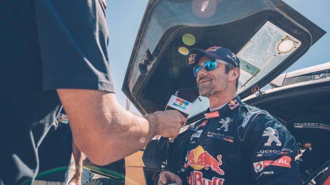 Dakar 2017 Etape 11 Seb Loeb fataliste. (c) : DR