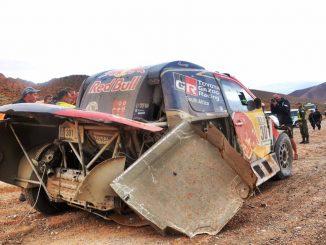 Dakar 2017 Etape 3 Toyota al-Attiyah liste abandons Dakar 2017