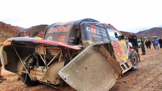 Dakar 2017 Etape 3 Toyota al-Attiyah