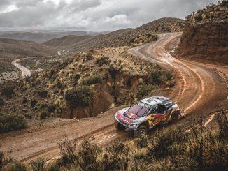 Dakar 2017 Etape 5 Loeb impose sa 3008 DKR. (c) : DR